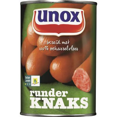 Unox Worst knaks rund