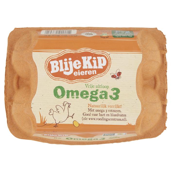 Blije Kip Omega 3 vrije uitloop