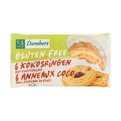 Damhert Glutenvrije Kokosringen met Fruitvulling 6 Stuks