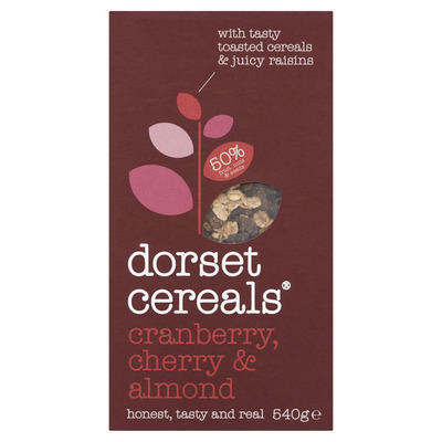 Dorset Muesli cranberry cherry & almond