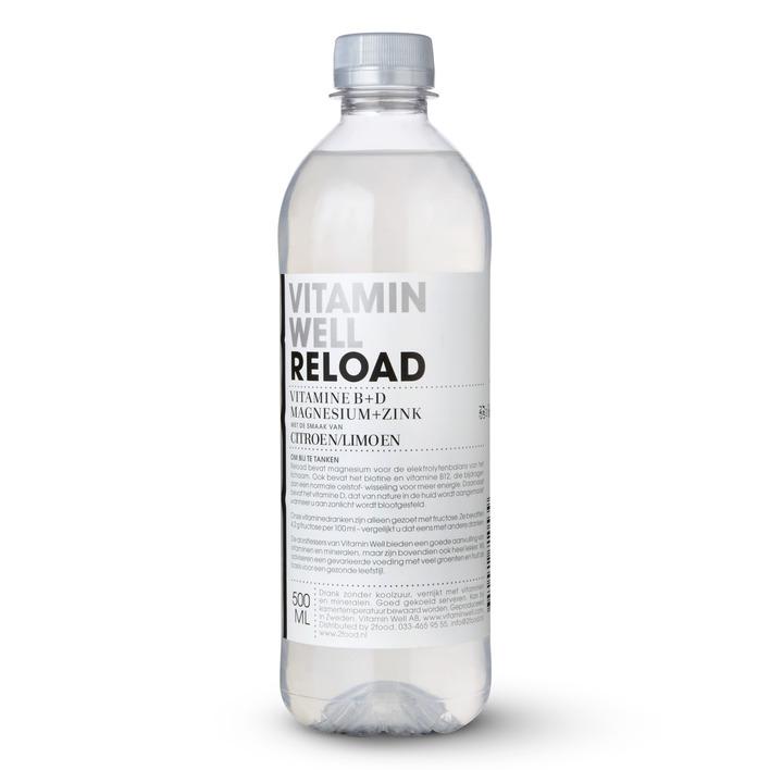 Vitamin Well Reload citroen-limoen
