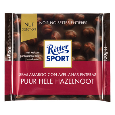 Ritter Sport Nut selection puur-hazelnoot