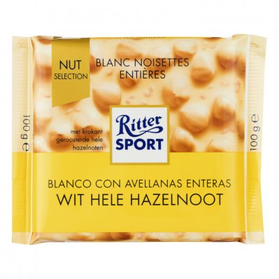 Ritter Sport Nut selection wit-hazelnoot