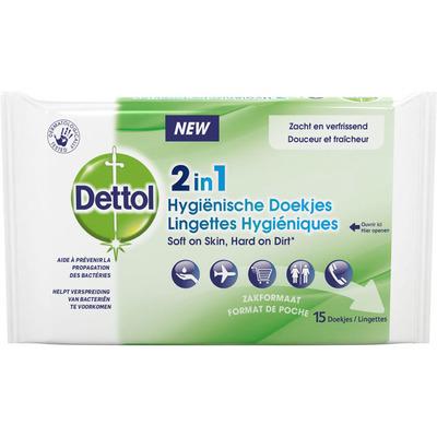Dettol 2-in-1 Desinfectie doekjes