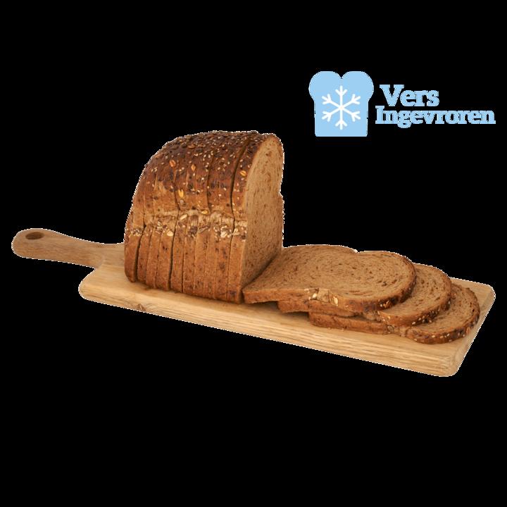 Huismerk Brood Goudeerlijk Volkoren Half (Vers Ingevroren)