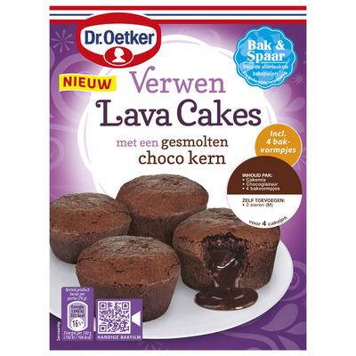 Dr. Oetker Verwen lavacakes