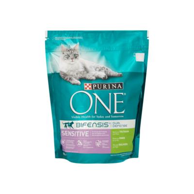 Purina ONE Sensitive met Kalkoen en Rijst Kattenbrokken