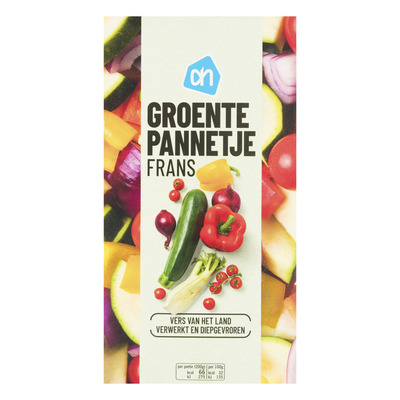 Huismerk Rijkgevuld Frans groentepannetje