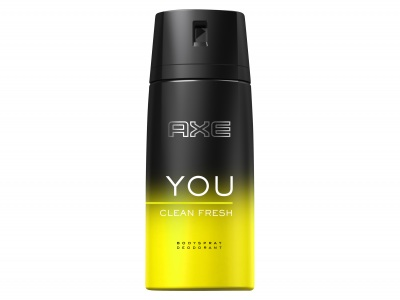 Axe Deospray YOU clean fresh