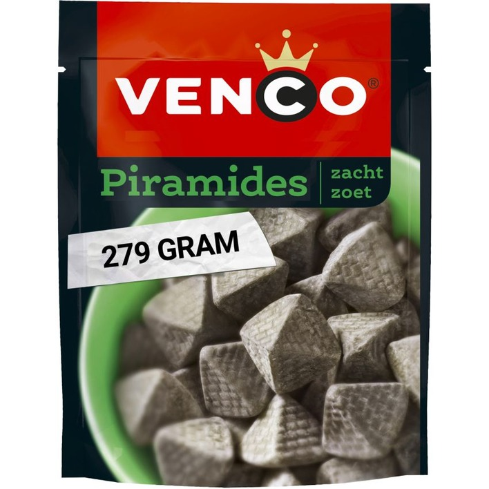 Venco Piramides zacht zoet