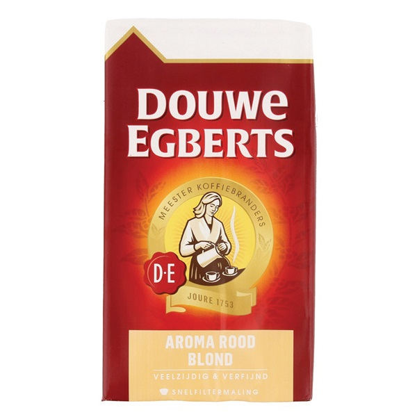 Douwe Egberts Snelfilterkoffie Aroma Rood Blond