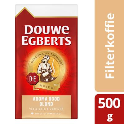 Douwe Egberts Aroma Rood Blond Koffie Snelfiltermaling