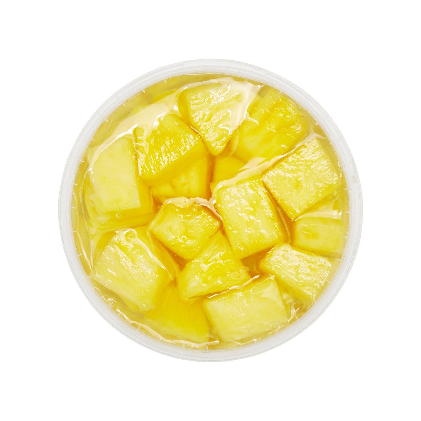 Ananas Op Lichte Siroop