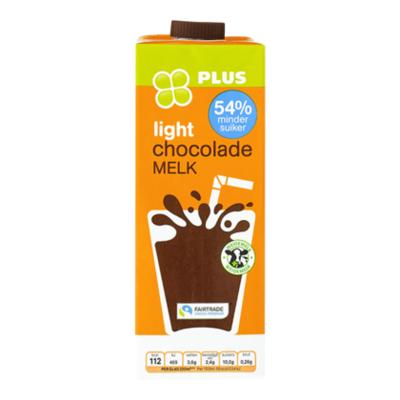 Huismerk Fairtrade chocolademelk light
