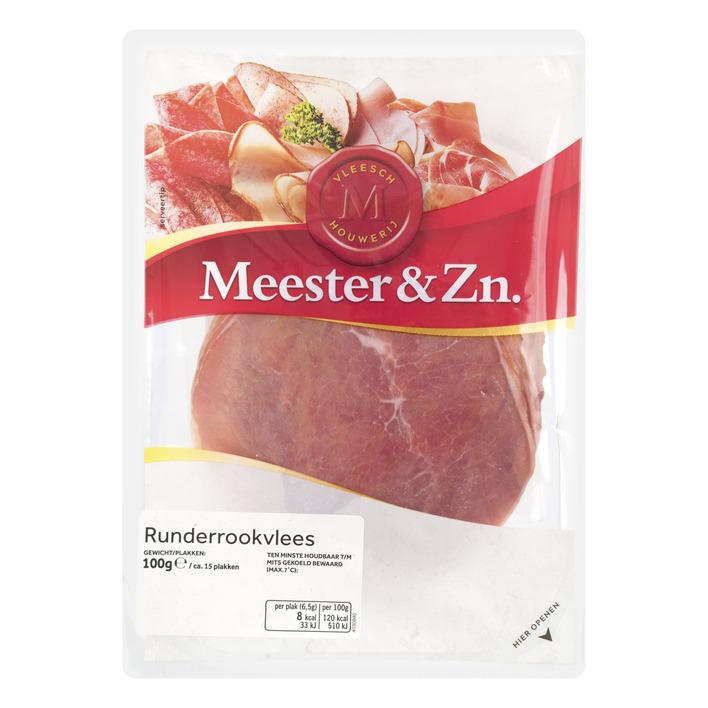 Meester&Zn Runderrookvlees