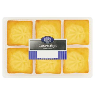 Bakkers Weelde Custardcakejes 240 g