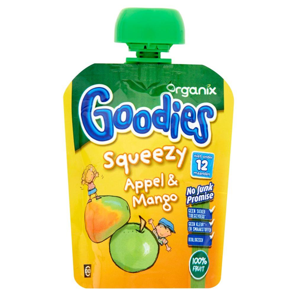 Organix Goodies Squeezy Appel & Mango 90 g