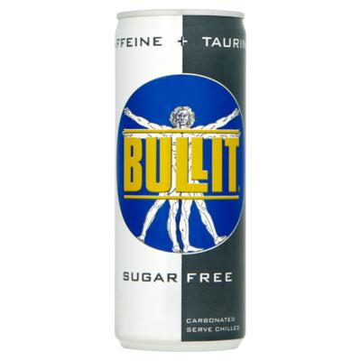 Bullit Energy drink sugar free