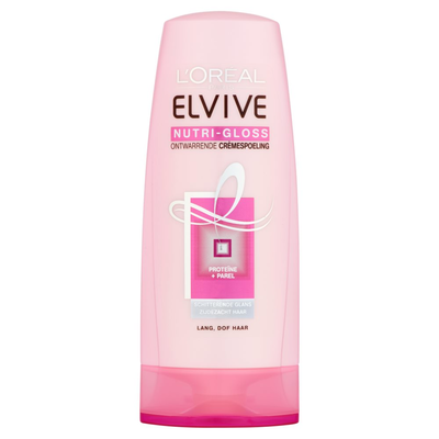 Elvive Nutri-Gloss Ontwarrende Crèmespoeling 200 ml