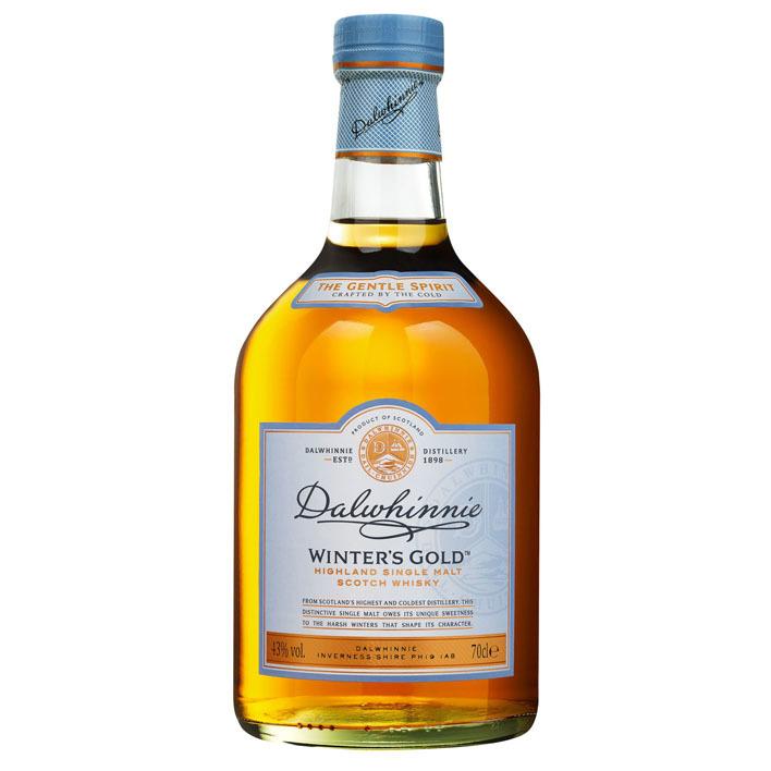 Dalwhinnie Winter's gold single malt Scotch whisky