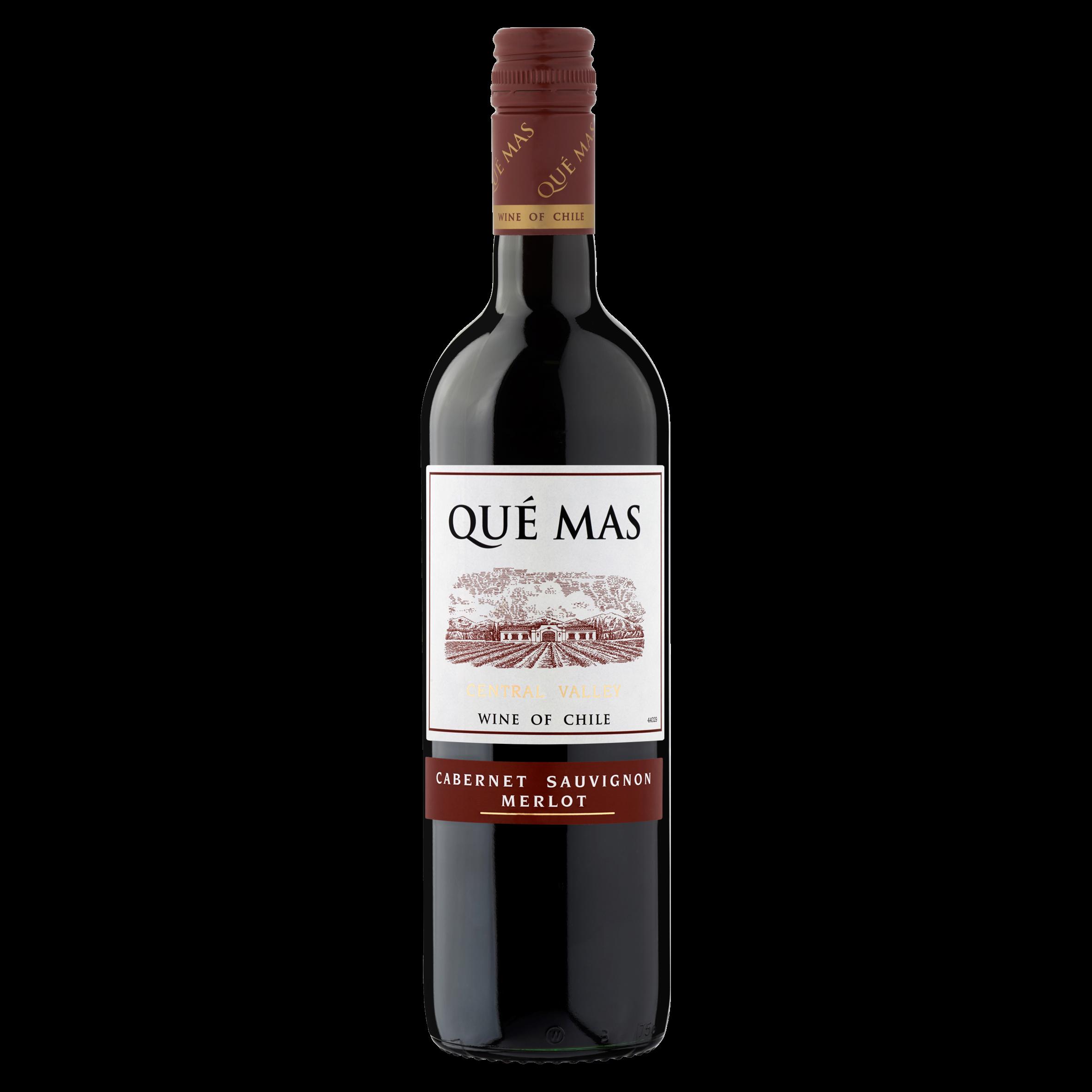 Qué Mas Cabernet Sauvignon Merlot Rood 0,75 L