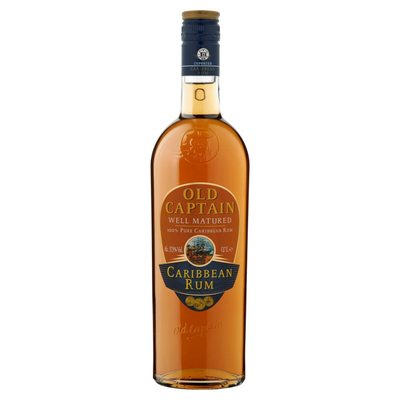 Old Captain Well Matured Caribbean Rum 0,7 L