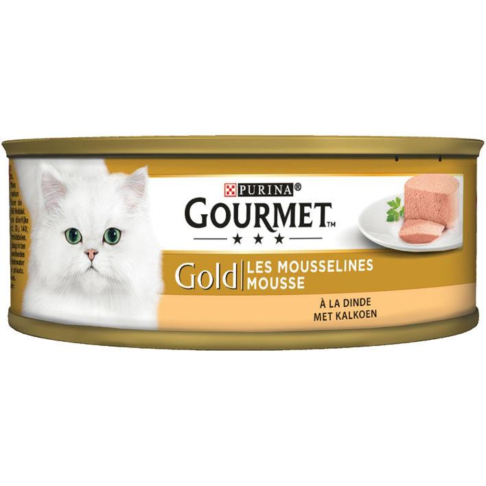 Gourmet Gold mousse met kalkoen