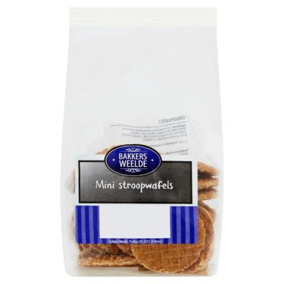 Bakkers Weelde Mini Stroopwafels 200 g