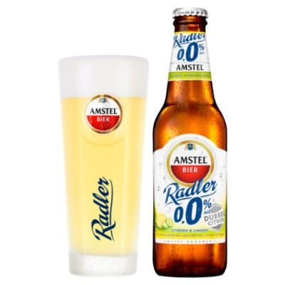 Amstel Radler dubbel citrus 0.0%