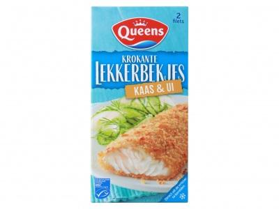 Queens Lekkerbekjes kaas ui
