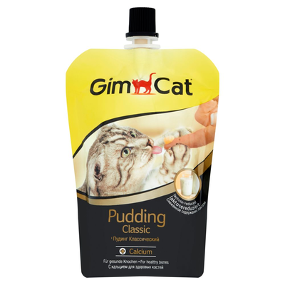 GimCat Kattenvoeding Pudding 150 g