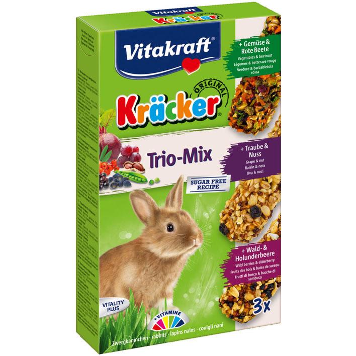 Vitakraft Kräckers konijn groente-noten-bessen