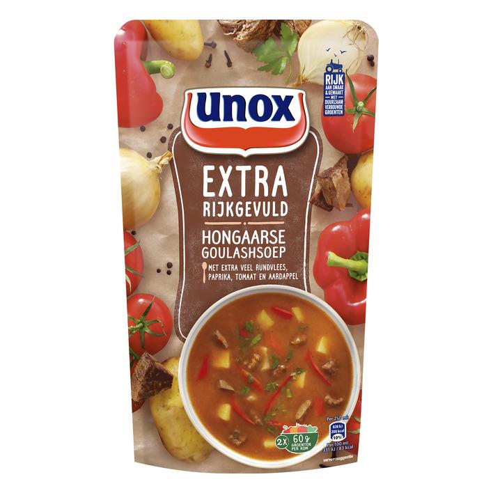 Unox Soep in zak goulashsoep
