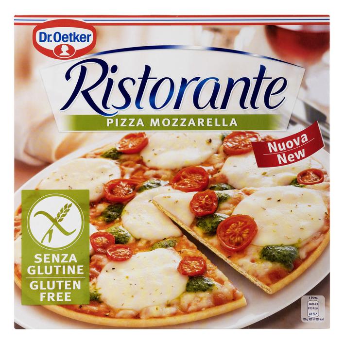 Dr. Oetker Ristorante pizza mozzarella glutenvrij