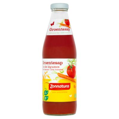 Zonnatura Groentesap met Tomaat 750 ml