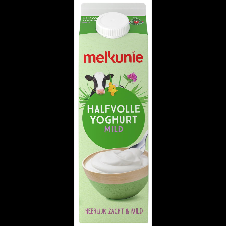 Melkunie Halfvolle yoghurt mild