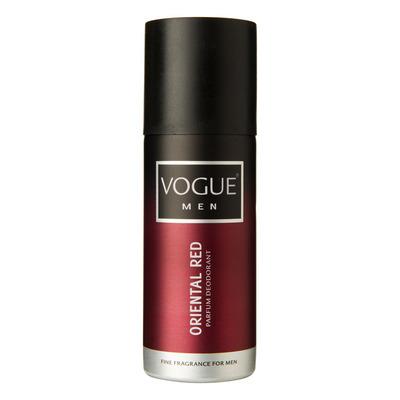 Vogue Homme deospray Oriental red