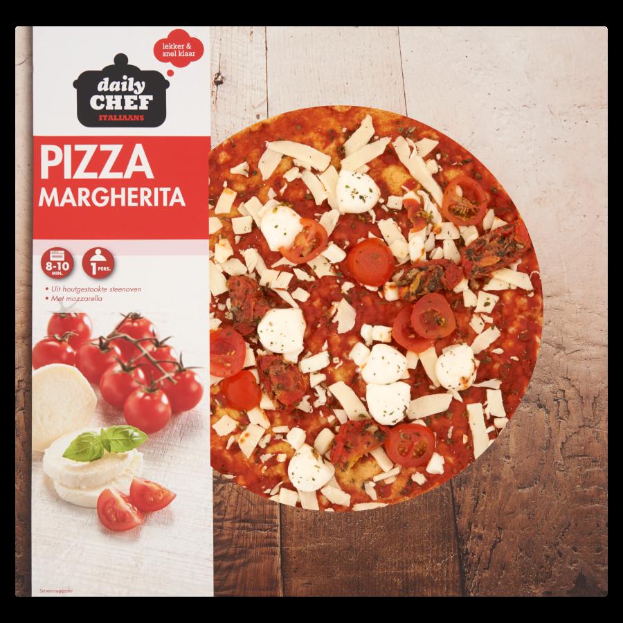 Huismerk Pizza luxe margherita
