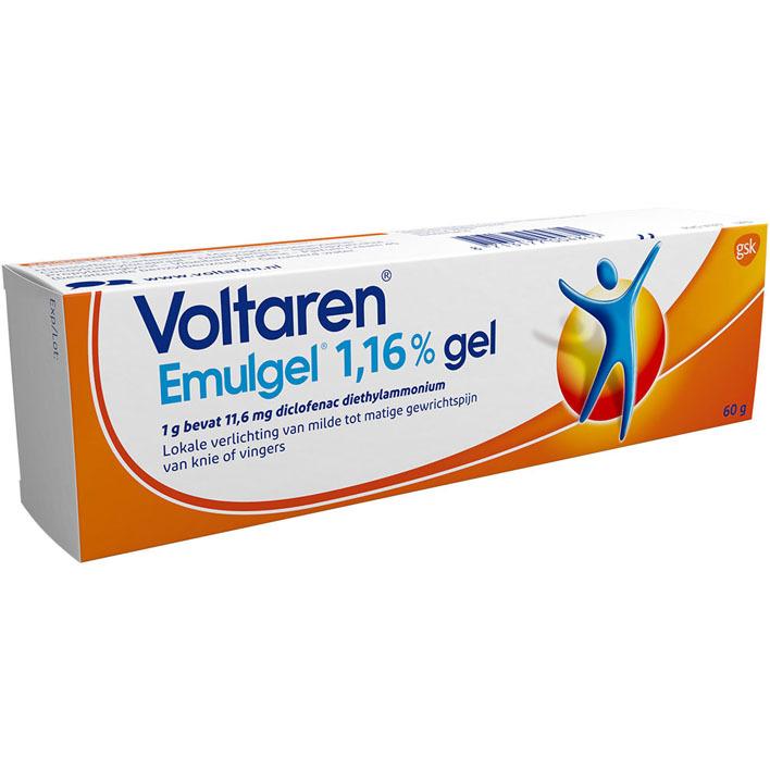 Voltaren Emulgel 1,16% Gel pijnverlichting