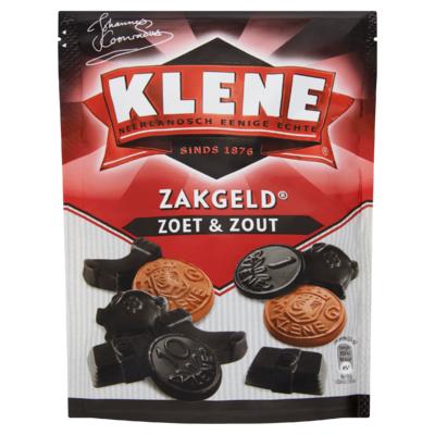 Klene Zakgeld Zoet & Zout 250 g