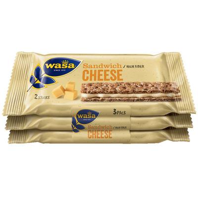 Wasa Sandwich cheese 3-pack