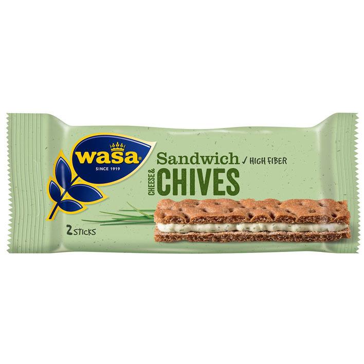 Wasa Sandwich cream cheese & chives