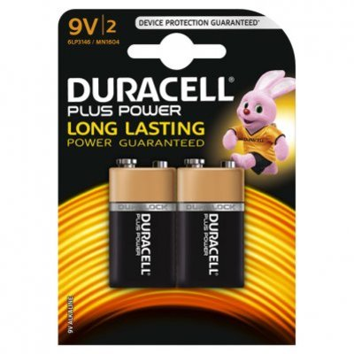 Duracell Batterij plus power 9V