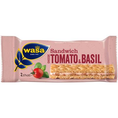 Wasa Sandwich cream cheese, tomato & basil