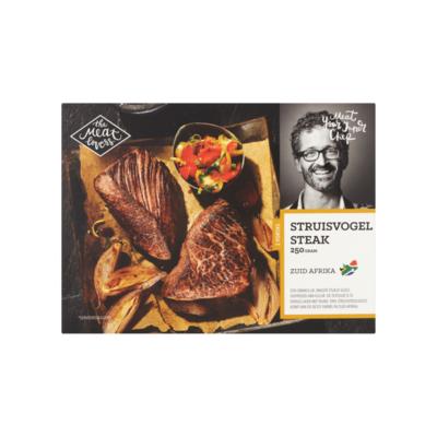 The Meat Lovers Struisvogel Steak 2 Porties