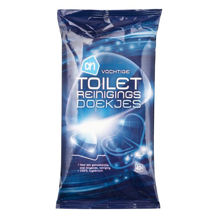 Huismerk Toilet reinigingsdoekjes vochtig
