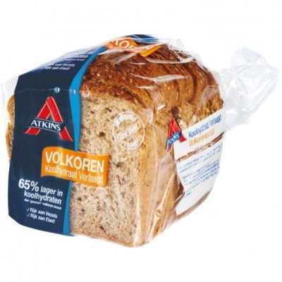 Atkins Laag koolhydraat volkoren brood half