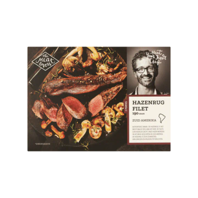 The Meat Lovers Hazenrug Filet 2 Porties