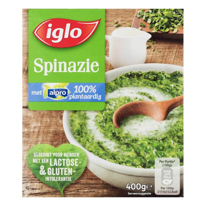Iglo Spinazie met alpro