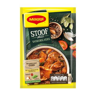 Maggi Stoofmix varkenslapjes
